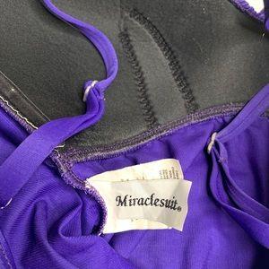 Miraclesuit Swim - MIRACLESUIT Sz 10 Swimsuit Rialto Slimming 1 Piece